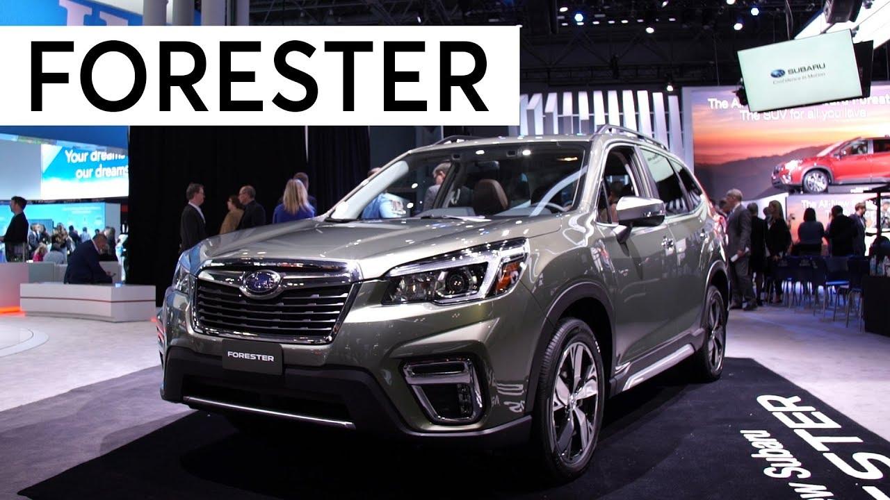 Subaru Forester Cargo Space >> 2018 New York Auto Show: 2019 Subaru Forester | Consumer Reports - YouTube