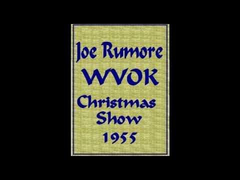WVOK 1955 Joe Rumore Christmas Show