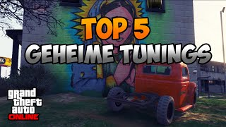 GTA 5 Online: TOP 5 GEHEIME TUNING AUTOS | Secret Tuning Cars | Deutsch