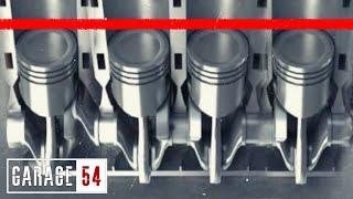 Однотактный двигатель - Все поршни в один такт