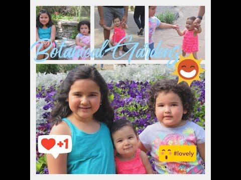 Botanical Garden in Fort Worth   El jardín de la Bestia  --VLOG 028--It'sOurLifeVlogs!!