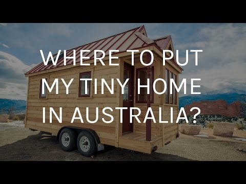 Where will I put my Tiny House YouTube