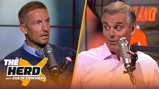 Joel Klatt on Alabama's strength of schedule and Lynn Swann leaving USC | CFB | THE HERD