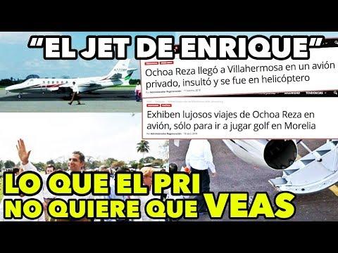 ¡El JET lujoso de Ochoa Reza! - El PRI quiso OCULTAR ésta información #HablandoDeAviones
