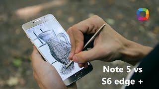 Samsung Galaxy Note 5 și Galaxy S6 Edge+ (review în Română)