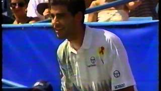 Sampras vs Courier Arthur Ashe Tennis Challenge 1993