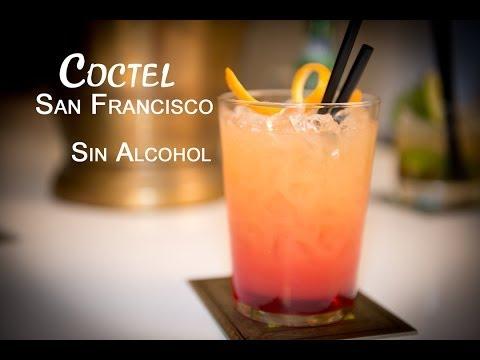 Como Hacer un Coctel San Francisco Bebida sin Alcohol