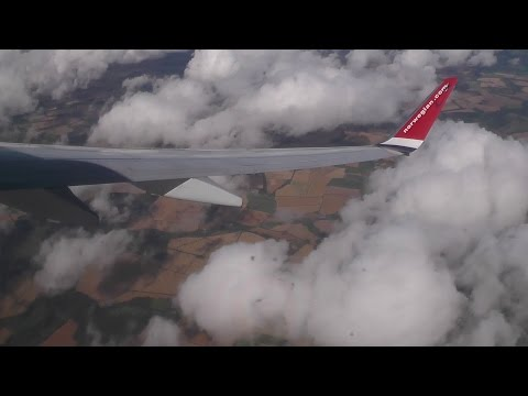 [INFLIGHT] Norwegian 737-8JP LN-DYW Copenhagen - Edinburgh (Full Flight)