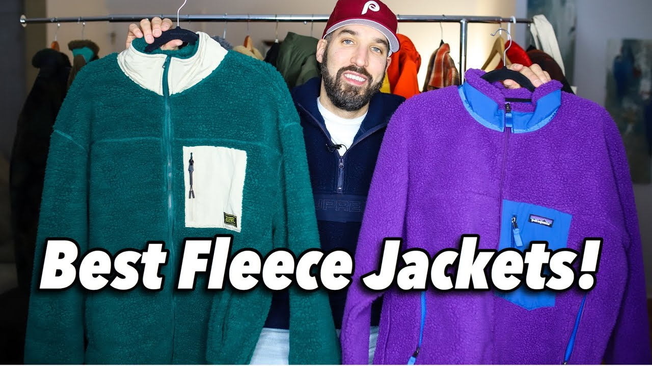 THE BEST FLEECE SHERPA JACKETS! AFFORDABLE VS EXPENSIVE OUTERWEAR - MEN'S FASHION ESSENTIALS
