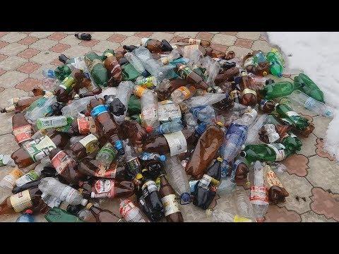 Сколько можно заработать на пластиковых бутылках?