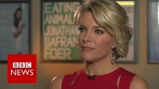 Megyn Kelly on Trump's 'online nastiness' - BBC News