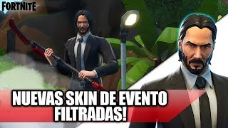 *FILTRATED* 2 NEW SKIN JOHN WICK AND SOFIA In Fortnite !! (New Event?)