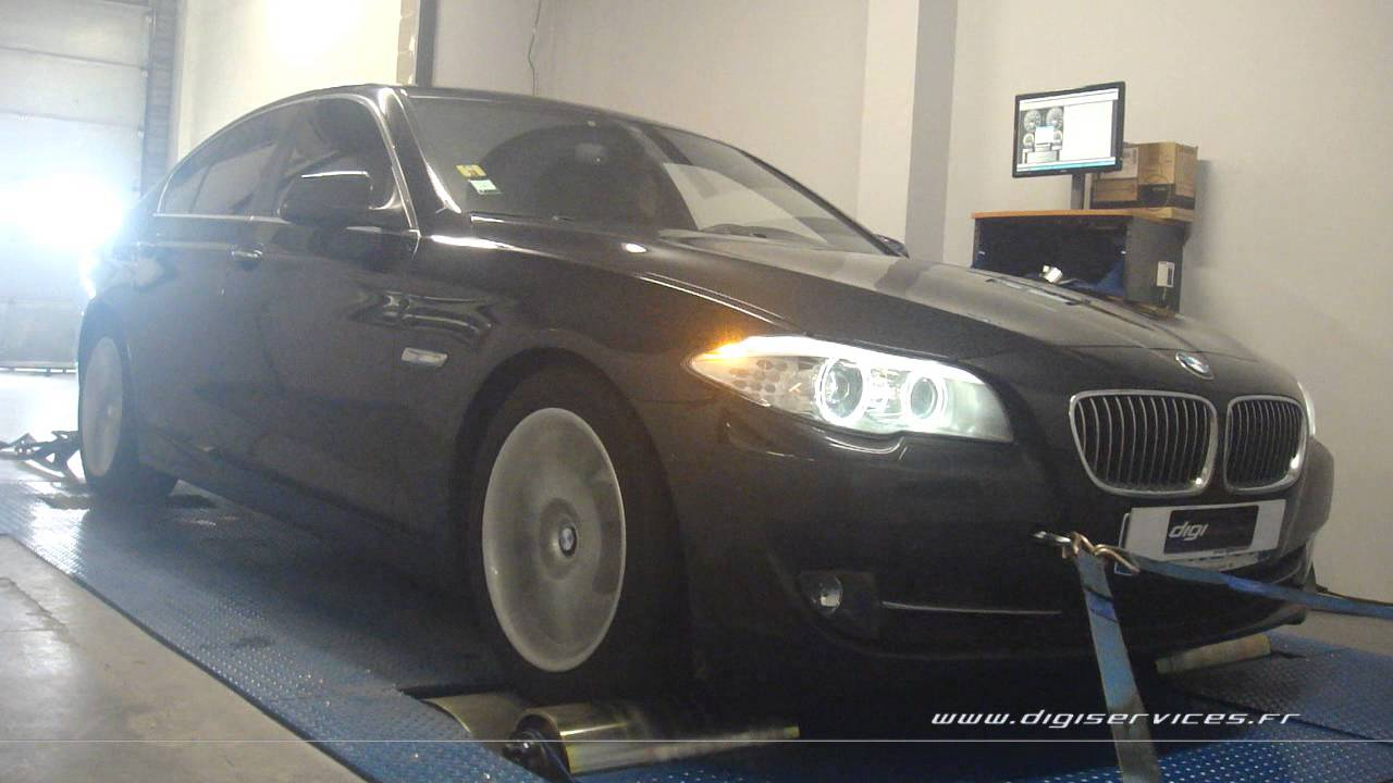 bmw f10 520d 184cv reprogrammation moteur 219cv digiservices paris 77 dyno youtube. Black Bedroom Furniture Sets. Home Design Ideas