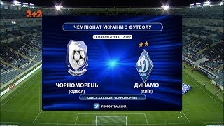 Chernomorets O. vs Dynamo Kyiv full match