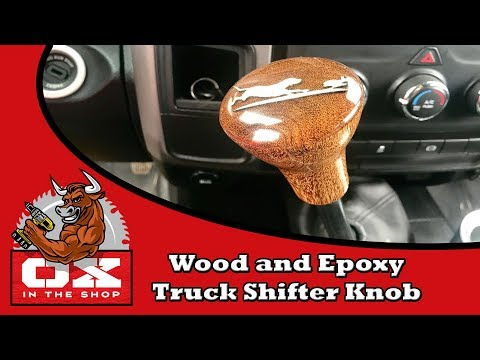 Making a Wood and Epoxy Shifter Knob