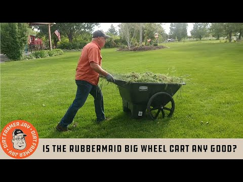Is the Rubbermaid Big Wheel Cart Any Good?