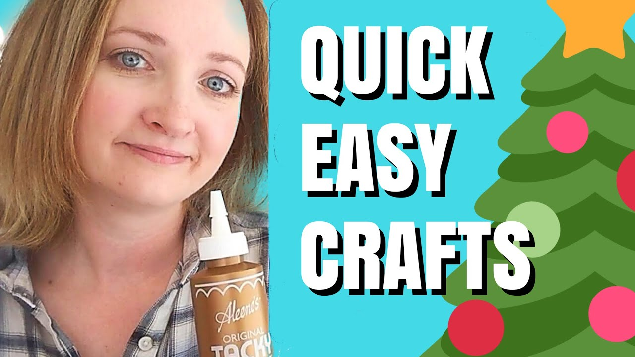 Last Minute Easy Christmas Crafts For Kids Youtube