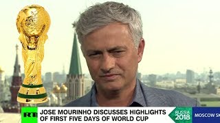 JOSE MOURINHO DISCUSSES HIGHLIGHTS OF FIRST FIVE DAYS OF WORLD CUP!