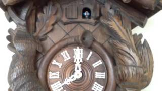 Large Musical Cuckoo Clock Repaired