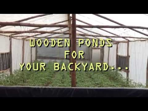 WOODEN PONDS FOR YOUR BACKYARD - How to Construct a Wooden Pond with Liner