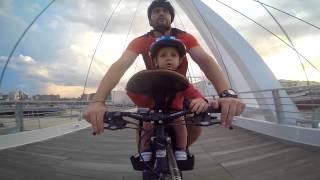 Mi primera vez en bici. .. with GoPro Silver 4 y weeride