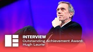 Outstanding Achievement Award: Hugh Laurie   Edinburgh TV Festival 2019