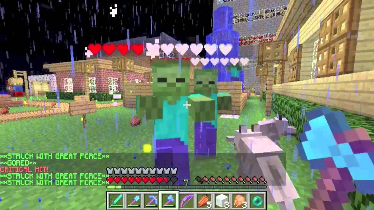 Zombie Apocalypse Bukkit Plugin on Towncraft Minecraft Server