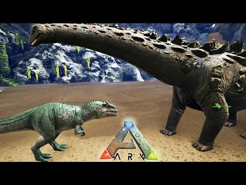 TITANOSAUR VS GIGANOTOS - ARK: Survival Evolved