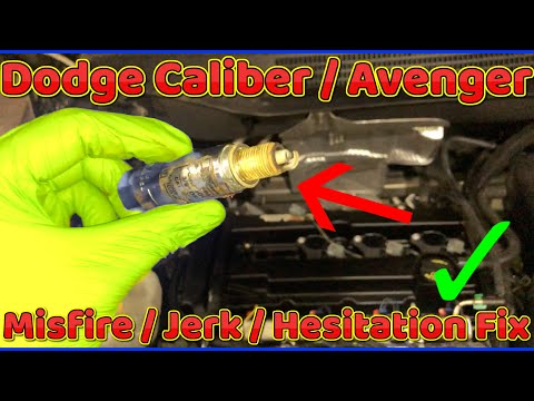 Dodge Caliber Misfire Fix ( Jerk , Hesitation , No Power Fix )