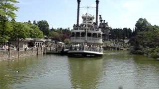 Диснейленд, Париж (Disneyland, Paris) - Frontierland(, 2009-11-25T23:46:21.000Z)