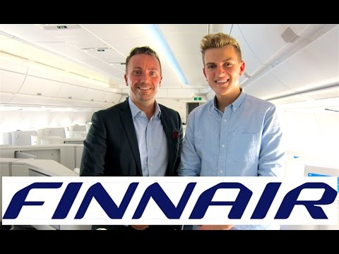 INTRODUCTION TO FINNAIR | Onboard A350 Interview - Airline Profiles Episode 1