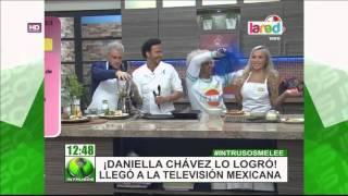 Daniella Chávez logró llegar a la televisión mexicana