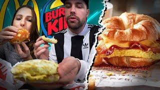 Le petit déjeuner Mcdonald's vs Burger King avec Pidi ! (rien ne s'est passé comme prévu...)