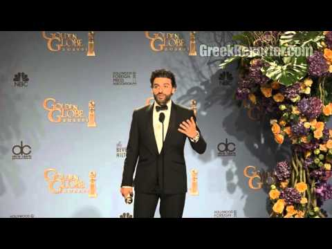 Oscar Isaac Speaks Greek after his Golden Globe Win