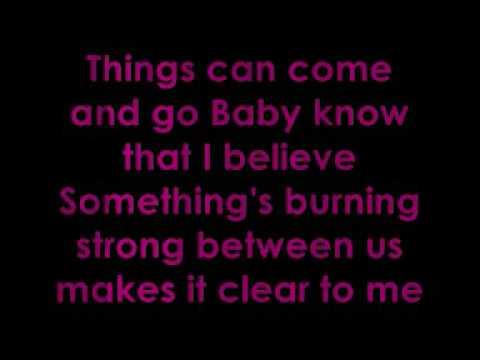 dj cammy - i wanna grow old with you with lyrics