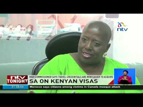 South Africa reviews visa requirements for Kenyans