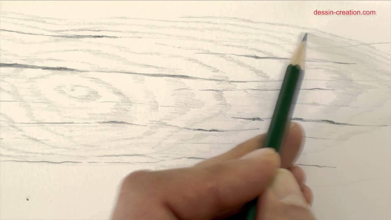 Tuto Comment Desssiner La Texture Du Bois Au Crayon Par Léo Dessin