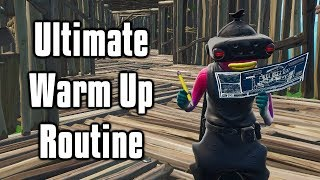 Ultimate Warm Up Routine - Aim/Build/Edit Drills For PC console (Fortnite Battle Royale)