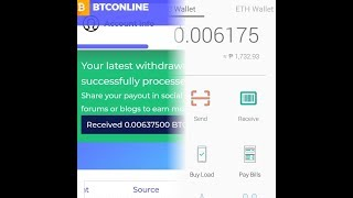 Cover images Btconline.io Legit site 2019 withdrawal time check 5:00 AM