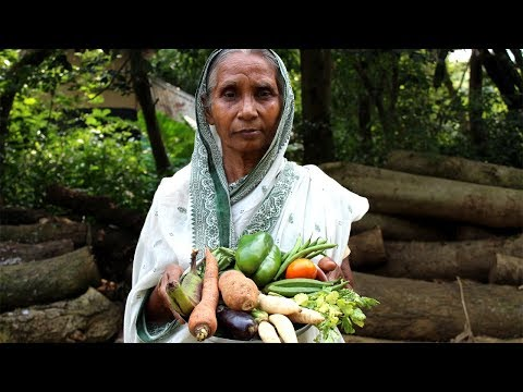 Grandma's Special and Healthy Delicious Mixed Vegetable Recipe | Vegetable Recipe | Village Food