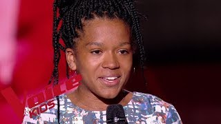 Sam Cooke - A change is gonna come | Fannie |  The Voice Kids France 2019 | Blind Audition