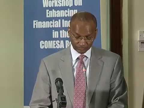 CBK Governor Patrick Njoroge's at the Microfinance Training Course for Policy and Development