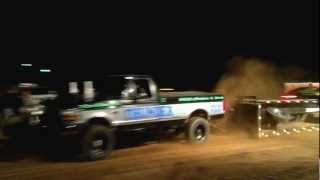Truck Pulls, Cabool MO, Lenny Johnson, Thunder Two