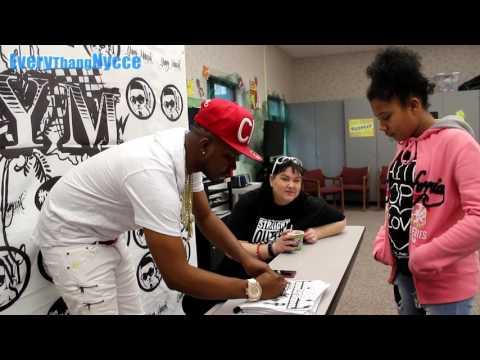 YungMuusik surprises Mesa Linda Middle School