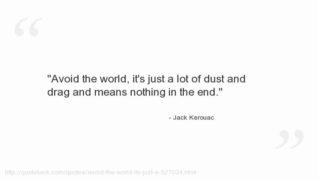 Jack Kerouac Quotes   YouTube