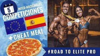 CALENDARIO COMPETICIONES + CHEAT MEAL #RoadToElitePro