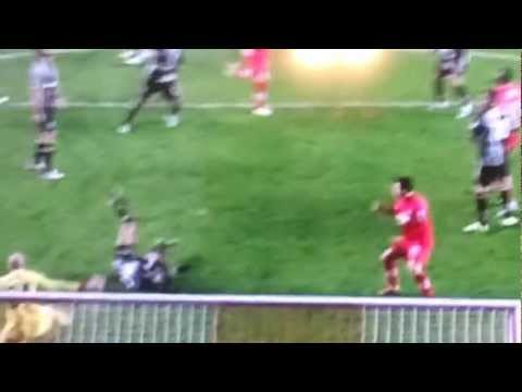 Sandro From Tottenham Fc Gets Knocked Out (football)