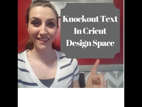 Silhouette Studio V3 Text Knockout Technique Learnsilh