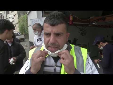 متطوعون بالجزائر يصنعون كمامات من ورق المطبخ لمحاربة كورونا  - نشر قبل 11 ساعة