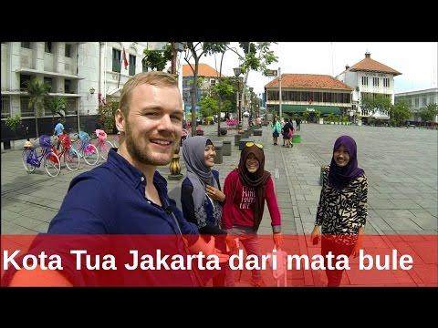 BuleKulineran| Kota Tua Jakarta Dari Mata Bule - Tempat Wisata| FVLOG #28